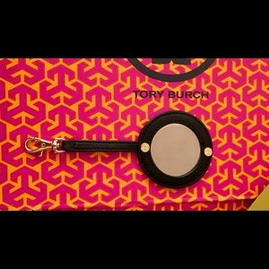 Tory Burch Leather Detachable Cosmetic Mirror